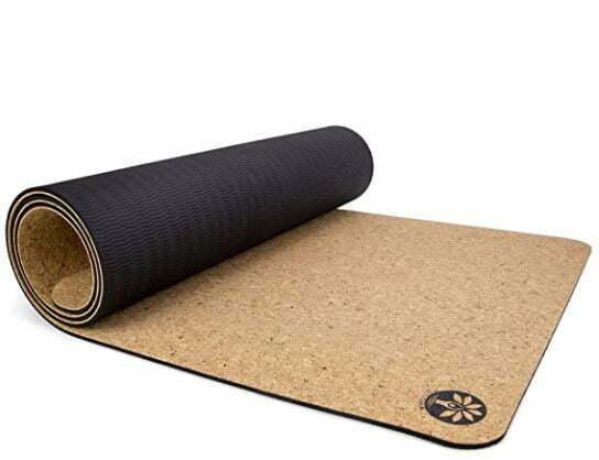best yoga mat for sweaty hands: Yoloha Original Air Cork Yoga Mat