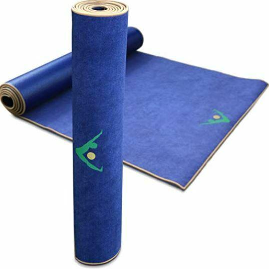 best yoga mat for sweaty hands: Aurorae Synergy 2 in 1 Yoga Mat