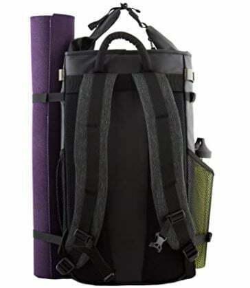 yoga mat backpacks: Mantisyoga Guru Backpack   Yoga Mat Bag   Multi-Purpose