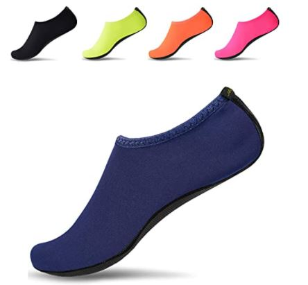 Yoga Mat Shoes: JACKSHIBO Men Women Quick-Dry Water Skin Shoes