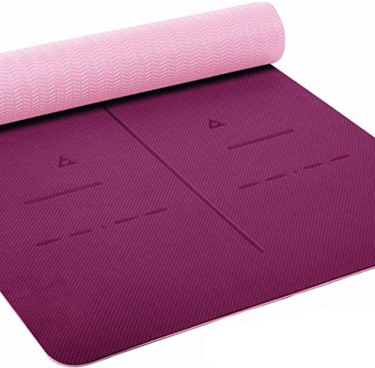 Yoga Mat for Carpet: Heathyoga Eco Friendly Non Slip Yoga Mat