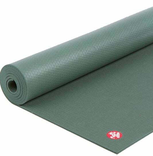 thick yoga mat for bad knees: Manduka PRO Yoga Mat – Premium 6mm Thick Mat