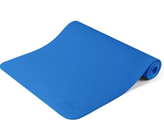 thick yoga mat for bad knees: Clever Yoga Mat Non Slip